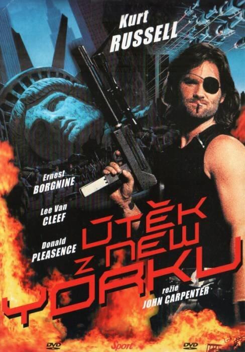Útěk z New Yorku (DVD) (papírový obal)