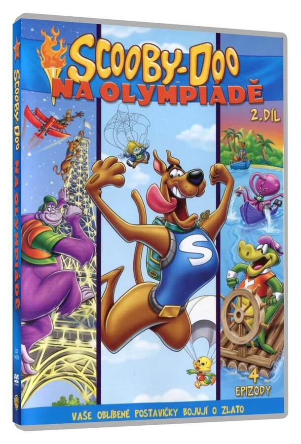 Scooby Doo na Olympiádě - 2. část (DVD)