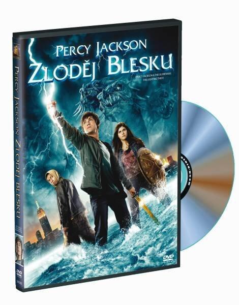 Percy Jackson: Zloděj blesku (DVD)