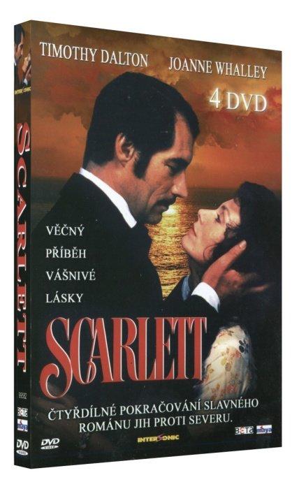 Scarlett - 4xDVD - kompletní TV seriál