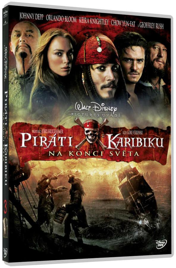 Piráti z Karibiku 3: Na konci světa - 1xDVD