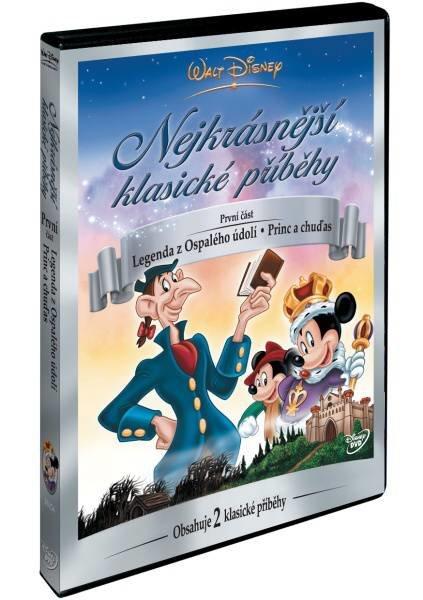 Walt Disney: Nejkrásnější klasické příběhy 1 (Legenda z Ospalého údolí, Princ a chuďas) (DVD)