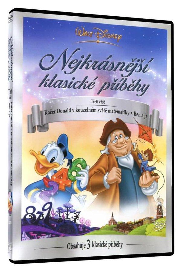Walt Disney: Nejkrásnější klasické příběhy 3 (Kačer Donald v kouzelném světě matematiky, Ben a já) (
