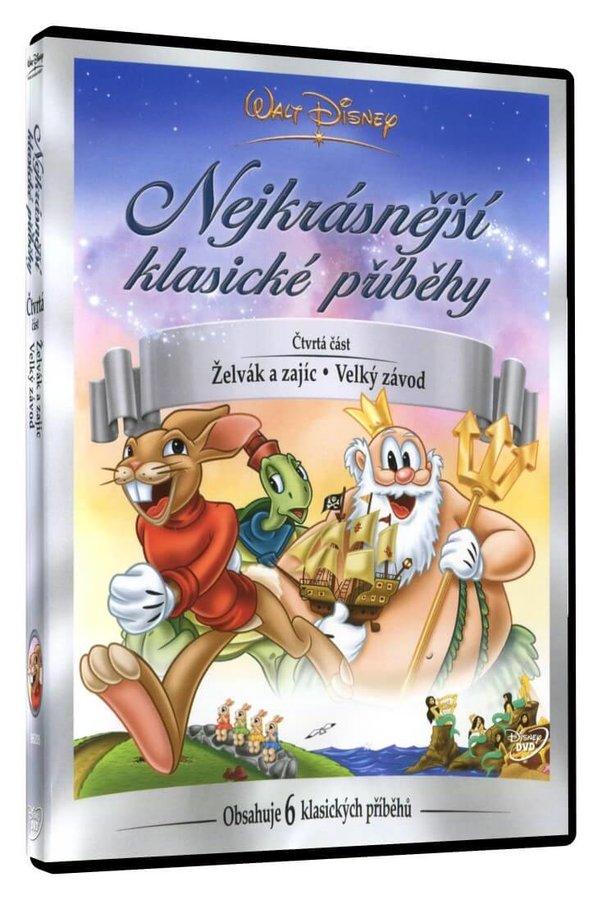Walt Disney: Nejkrásnější klasické příběhy 4 (Želvák a zajíc, Velký závod) (DVD)