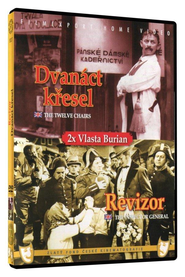 Dvanáct křesel / Revizor (DVD)