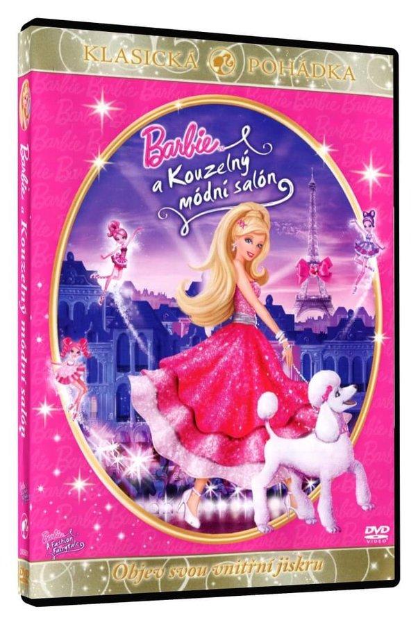 Barbie a Kouzelný módní salón (DVD)