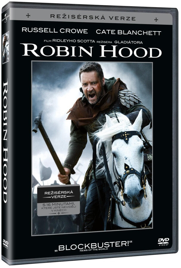 Robin Hood (2010) (DVD) - režisérská verze