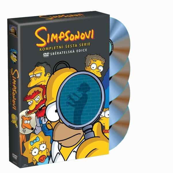 Simpsonovi 6. sezóna 4xDVD (25 dílů)