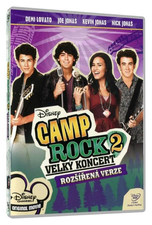 Camp Rock 2: Velký koncert (DVD) - rozšířená edice