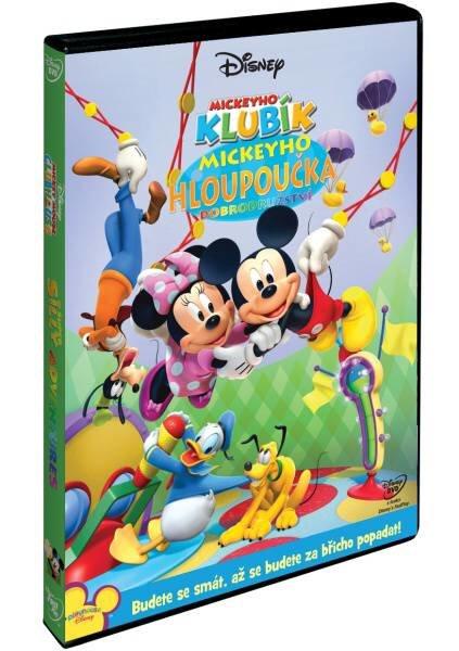 Mickeyho klubík: Mickeyho hloupoučká dobrodružství (DVD)