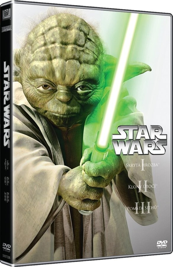 STAR WARS - PREQUEL TRILOGIE (1-3) 3DVD