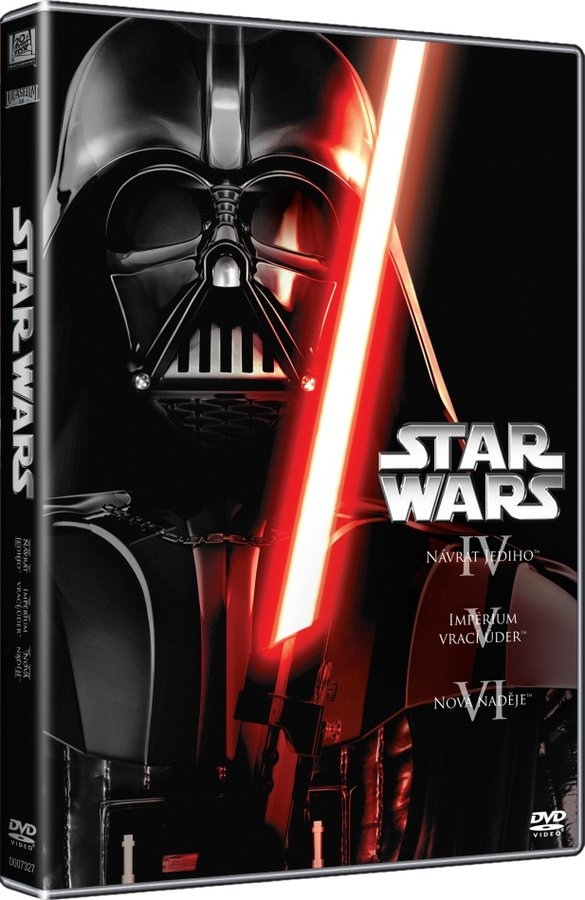 STAR WARS - TRILOGIE (4-6) 3DVD