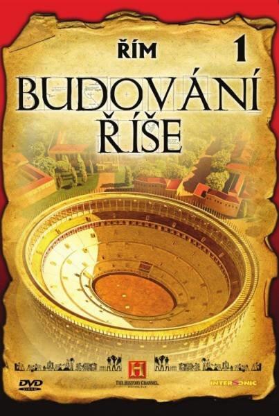 Budování říše - 1. díl - Řím (DVD) (papírový obal)