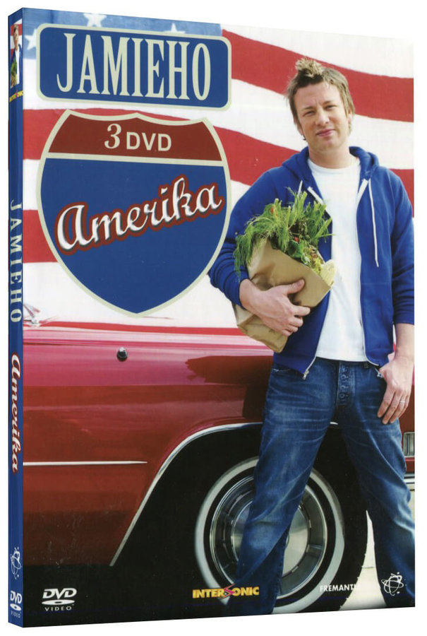 Jamie Oliver - Jamieho Amerika KOMPLET - 3xDVD