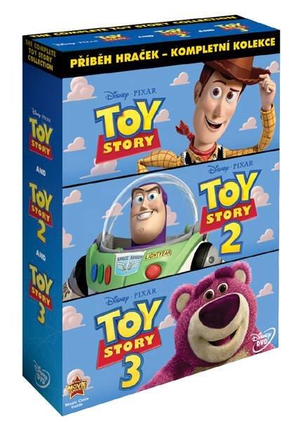 Toy Story: Příběh hraček KOMPLET - 1+2+3 - 3xDVD