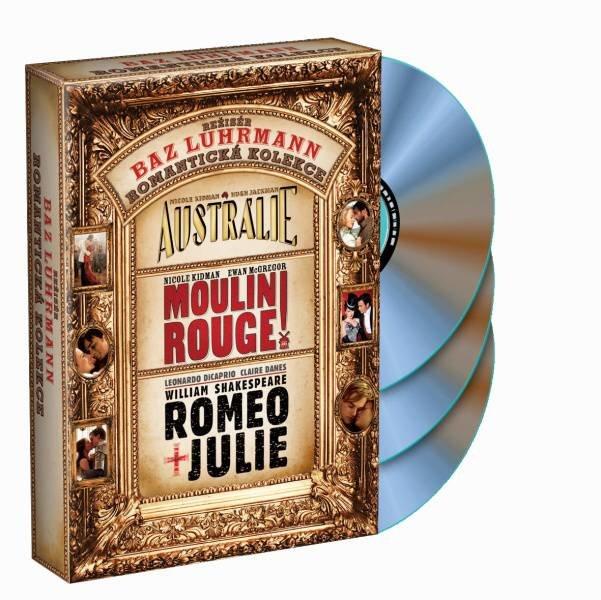 Baz Luhrmann kolekce - 3xDVD + CD BONUS ZDARMA