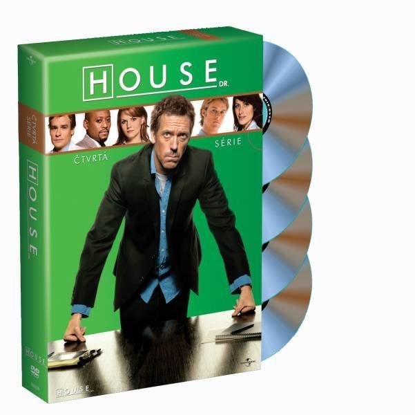Dr. House 4. sezóna (4 DVD)