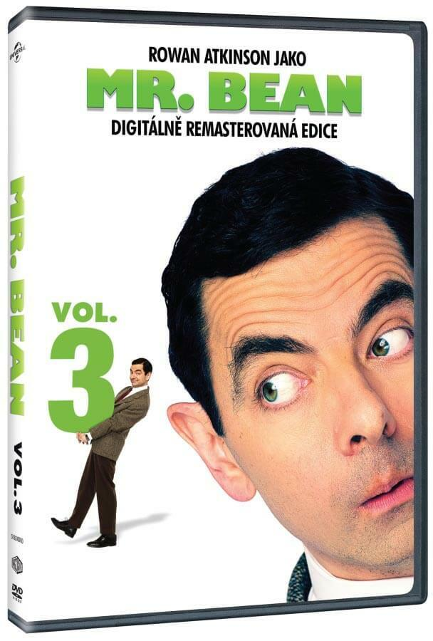 Mr. Bean 3 (DVD) - remasterováno