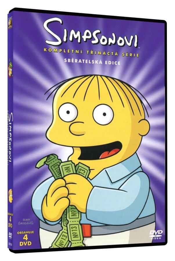 Simpsonovi 13. sezóna (4 DVD)