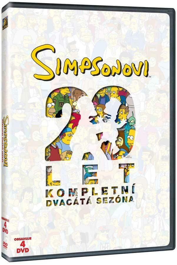 Simpsonovi 20. sezóna (4 DVD)