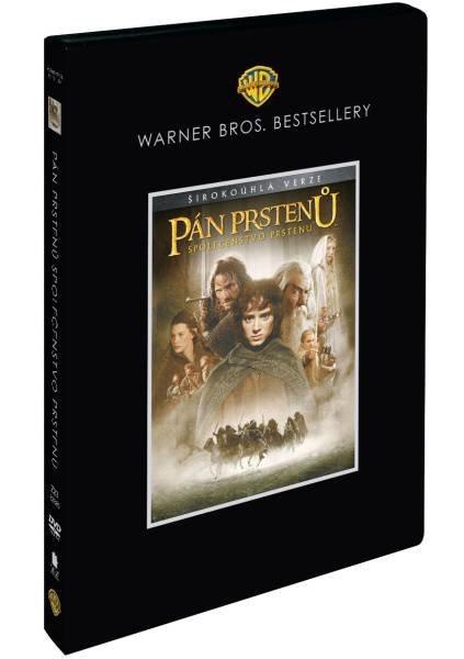 Pán prstenů: Společenstvo prstenu 1xDVD - Warner Bros. Bestsellery - kino verze