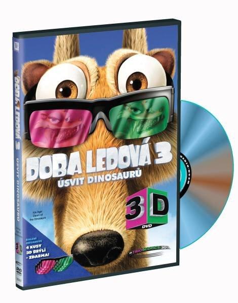 Doba ledová 3 - Úsvit dinosaurů (2D+3D) - 1xDVD