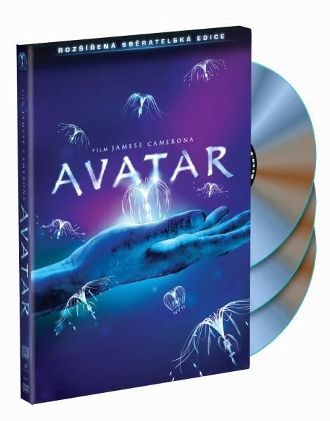 Avatar (3 DVD) - rozšířená sběratelská edice
