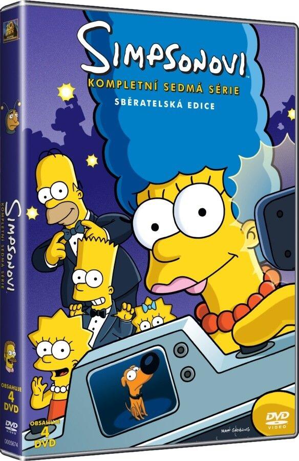 Simpsonovi 7. sezóna - 4xDVD (25 dílů)