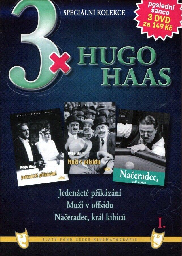 3xHugo Haas 1 (Jedenácté přikázání / Muži v offsidu / Načeradec, král kibiců) - 3DVD