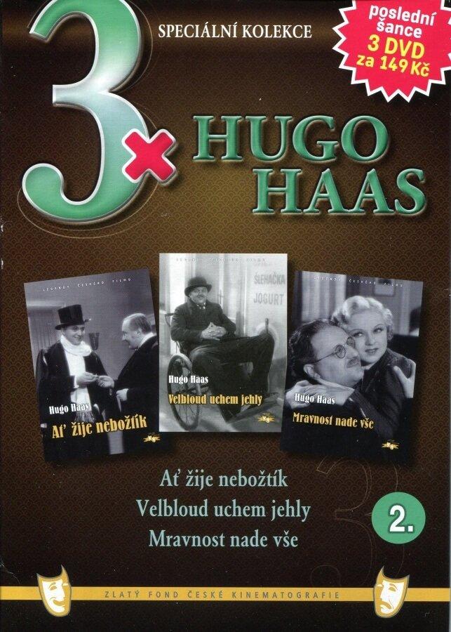3xHugo Haas 2 (Ať žije nebožtík / Velbloud uchem jehly / Mravnost nade vše) - 3DVD