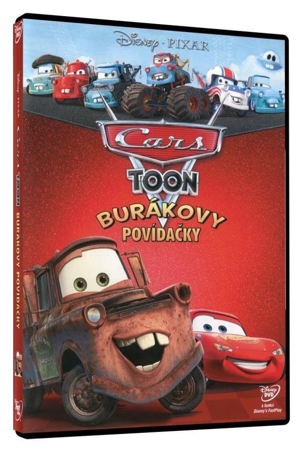 Cars Toon: Burákovy povídačky (DVD)