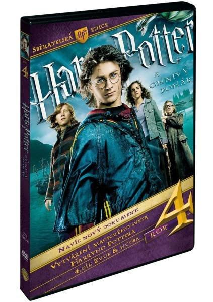 Harry Potter a ohnivý pohár S.E. - 3xDVD