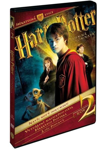 Harry Potter a tajemná komnata S.E. - 3xDVD