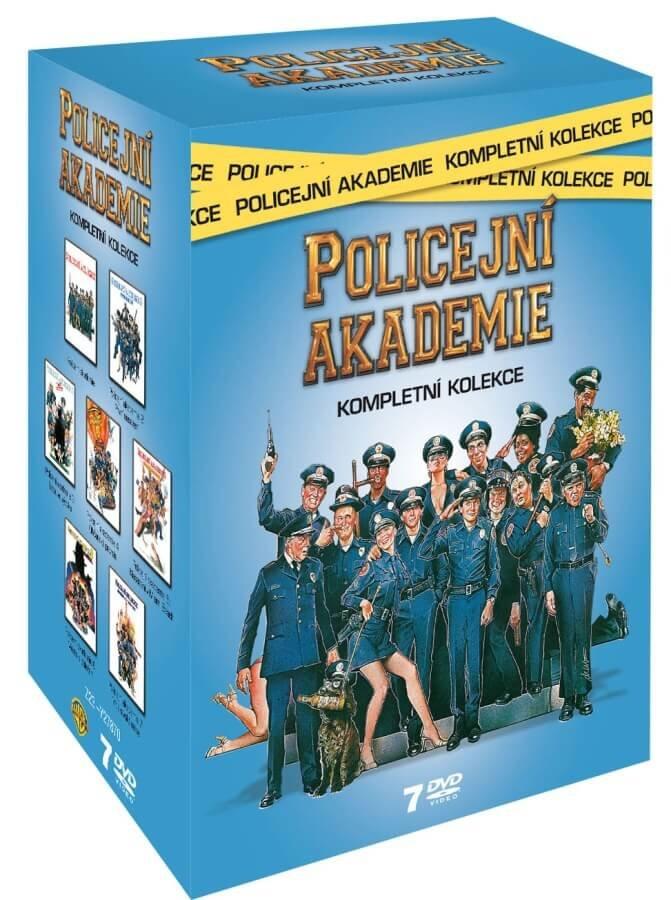 Policejní akademie KOMPLET - 7xDVD