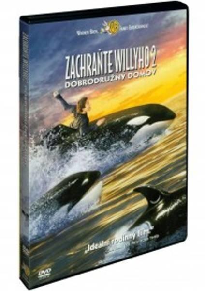 Zachraňte Willyho 2: Dobrodružný domov (DVD)