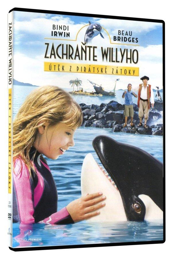 Zachraňte Willyho: Útěk z pirátské zátoky (DVD)