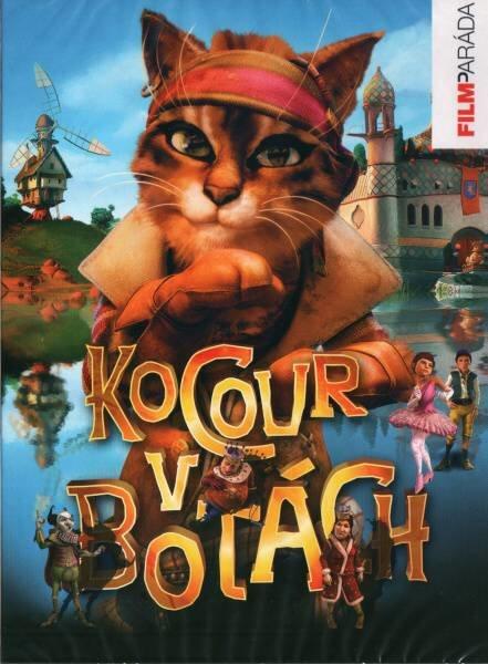 Kocour v botách (2009) (DVD) - francouzská produkce