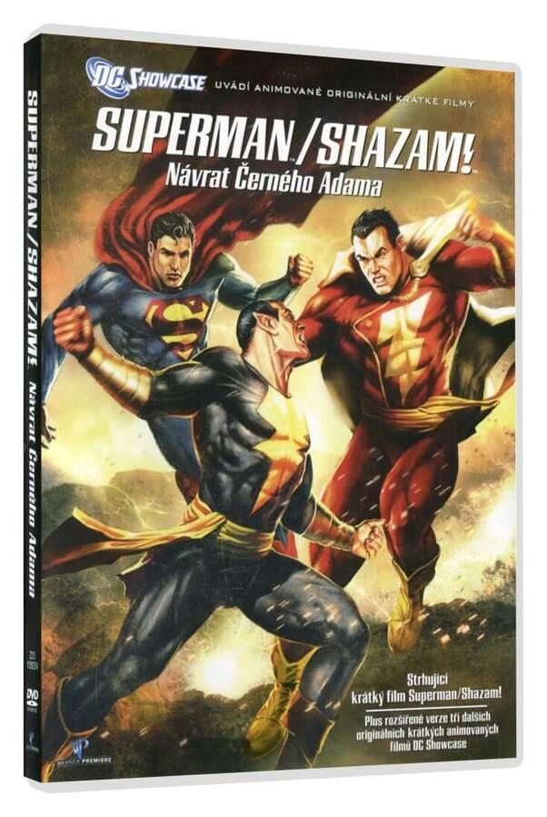 Superman/Shazam!: Návrat černého Adama (DVD)