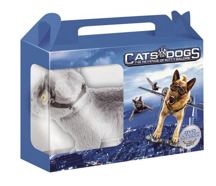 Jako kočky a psi: Pomsta prohnané Kitty (DVD) - dárková edice s hračkou