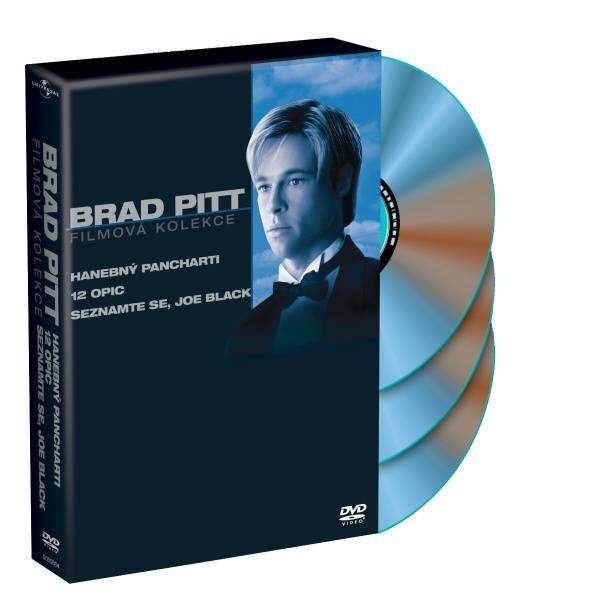 Brad Pitt kolekce - 3xDVD (Han.pan, 12 opic, Seznamte se, Joe…)