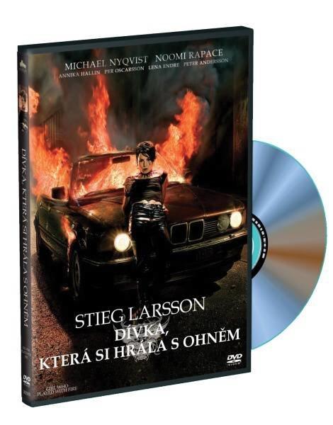 Dívka, která si hrála s ohněm (DVD)