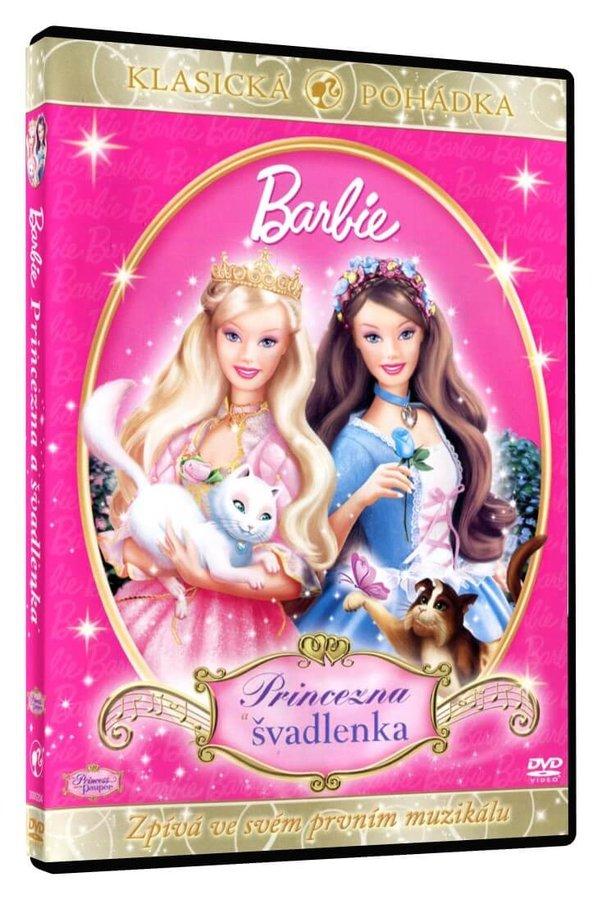 Barbie princezna a švadlenka (DVD)