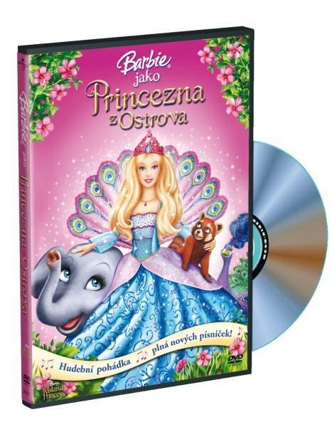 Barbie jako Princezna z ostrova (DVD)