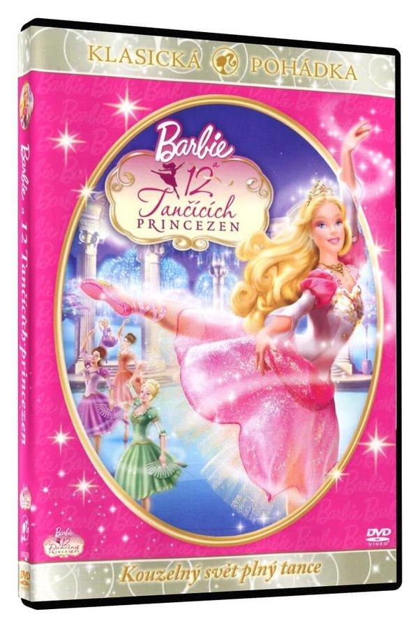 Barbie a 12 tančících princezen (DVD)