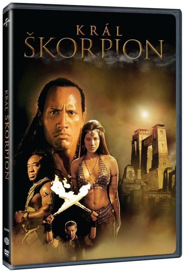 Král Škorpión (DVD) - prodloužená verze
