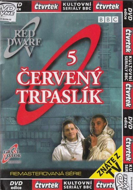 Červený trpaslík 5 (DVD) (papírový obal)