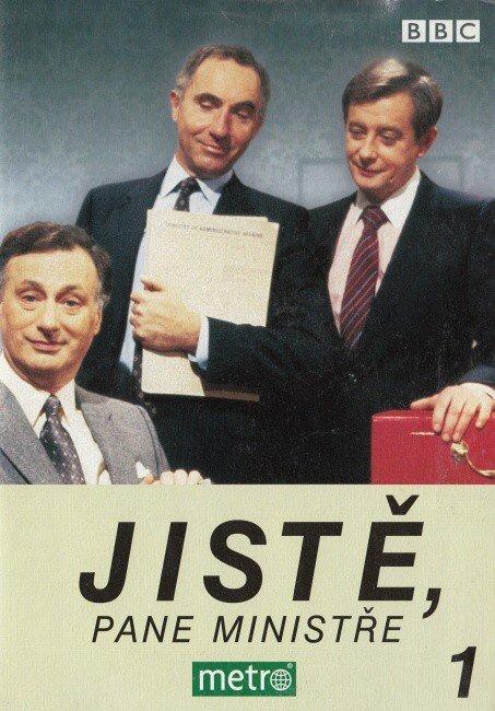 Jistě, pane ministře 1. (DVD) (papírový obal)