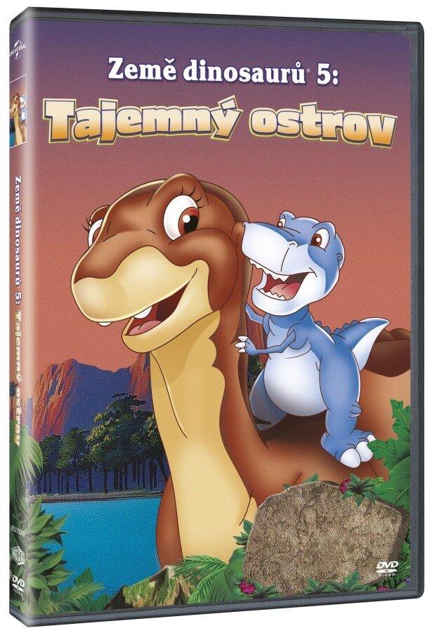 Země dinosaurů 5: Tajemný ostrov (DVD)