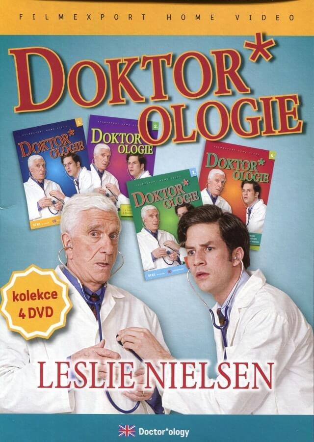 Doktorologie DVD 1-4- 4DVD kompletní seriál (papírový obal)