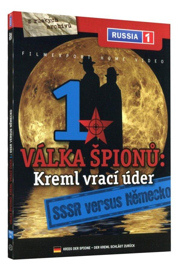 Válka špiónů: Kreml vrací úder 1 - SSSR versus Německo (DVD)